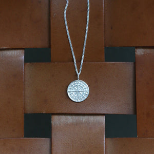 Cast Compass Pendant