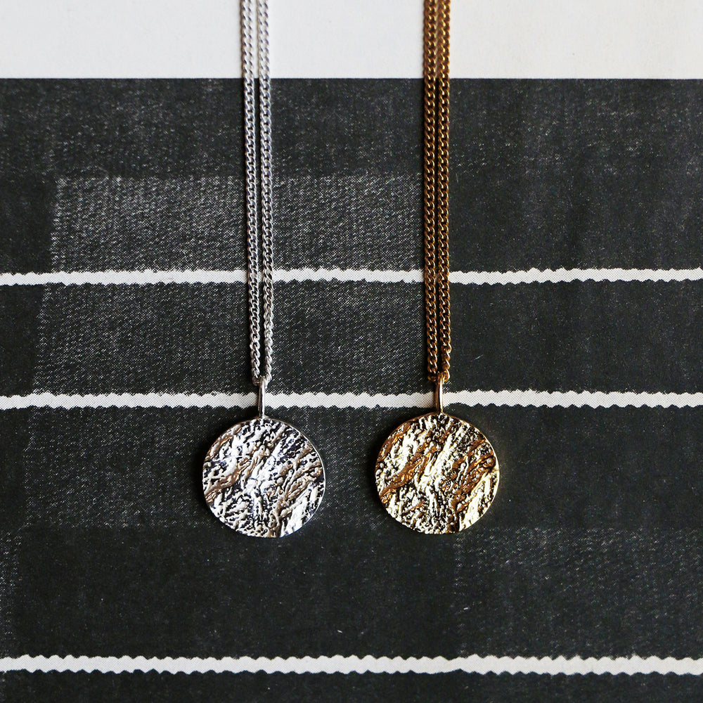 Structured Sphere Pendant