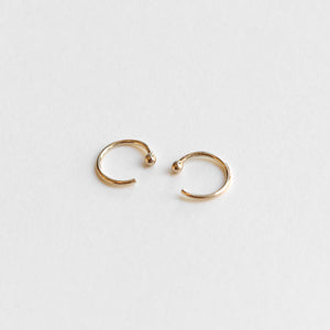 Mini Droplet Hoops - 14k