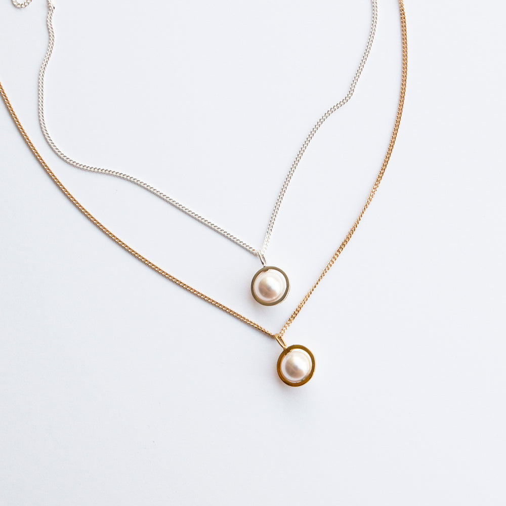 Pearl Planet Pendant