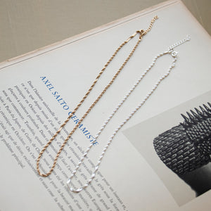 Singapore Spiral Necklace