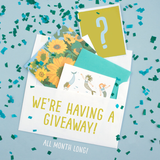 Enter Our July Giveaway On Instagram!
