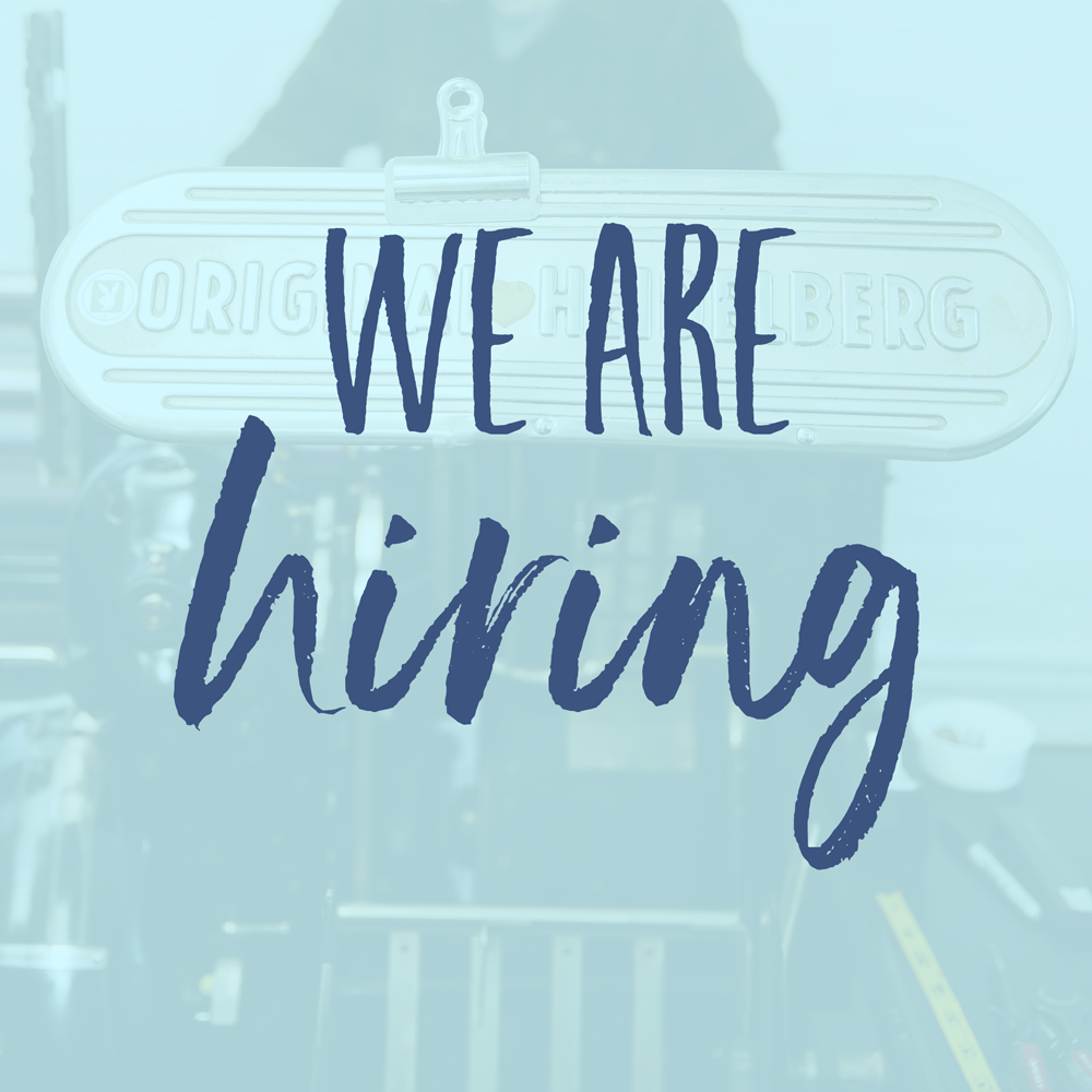 We're Hiring: Seasonal Fulfillment Assistant