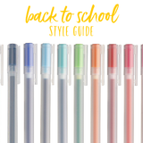 Back To School Syle Guide