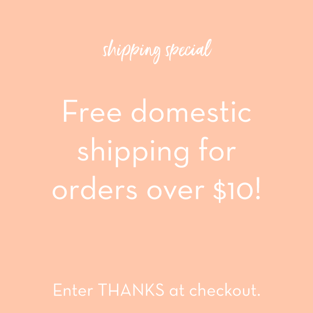Free Shipping Offer!
