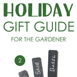 Holiday Gift Guide: Gardner