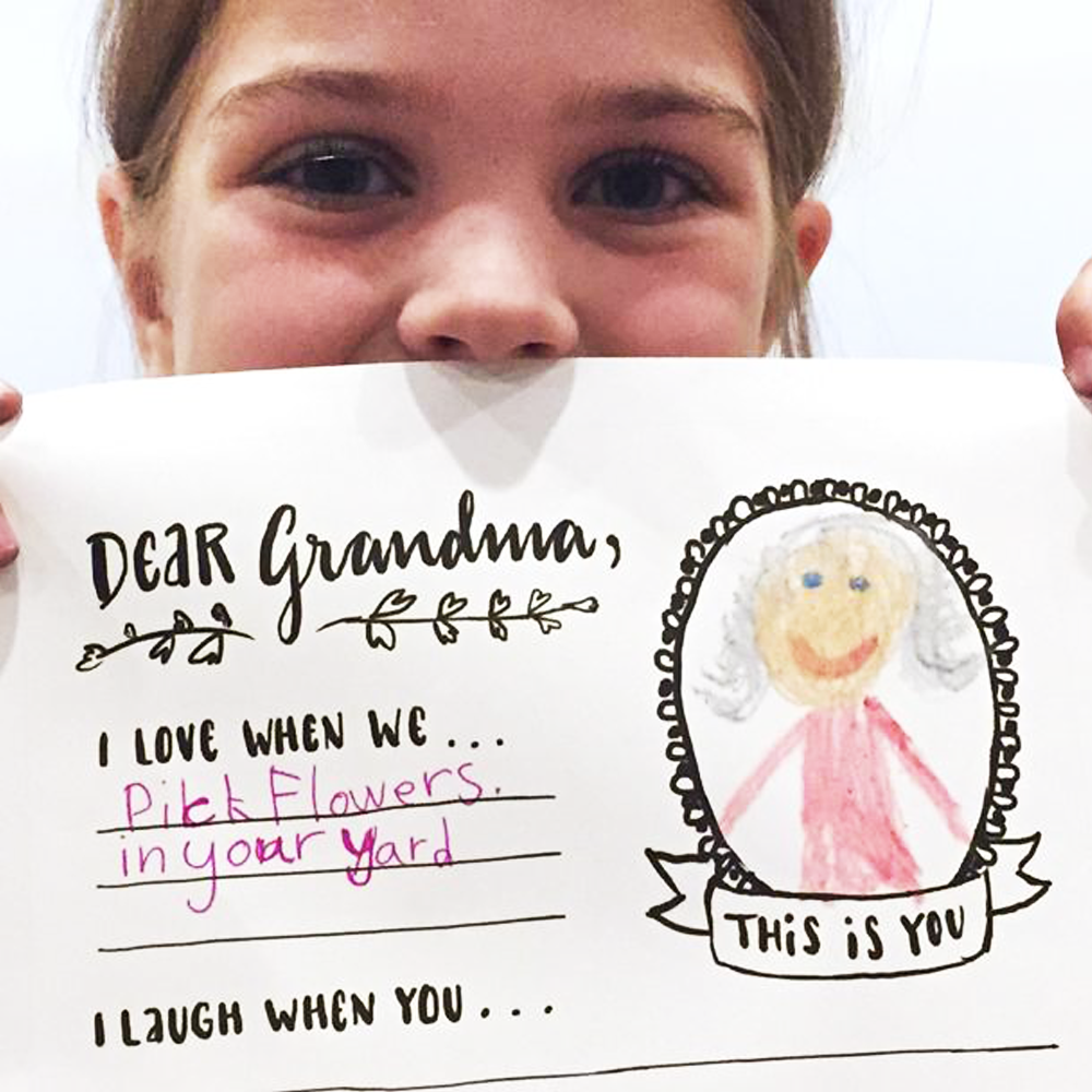 Free Grandparents Day Printable