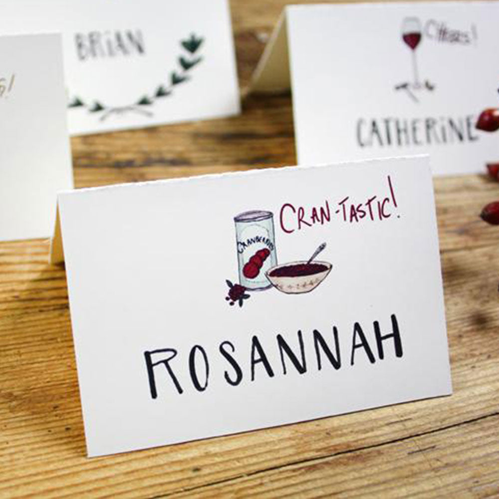 Printable Thanksgiving Place Cards!