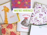 We're Hiring! Calling All Designers!