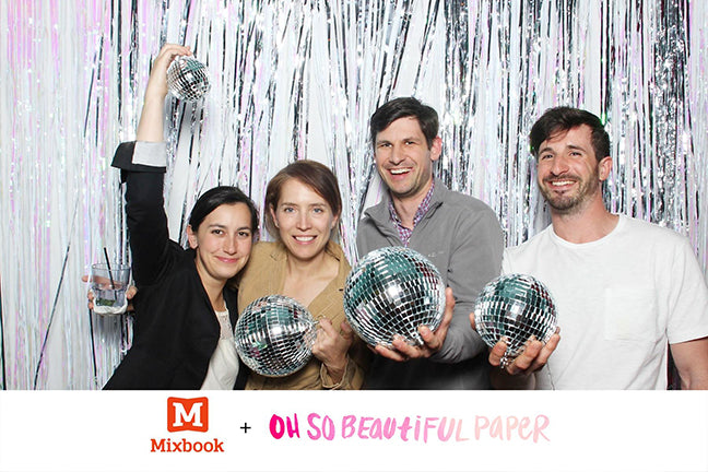 NSS 2016: Paper Party Photo Booth | Smudge Ink