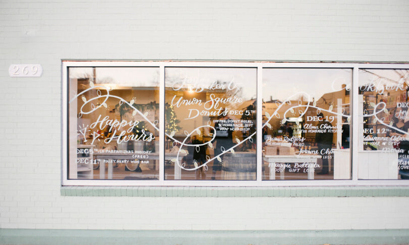Calligraphy and Lettering by Leveret & Hare | photo by White Loft Studio