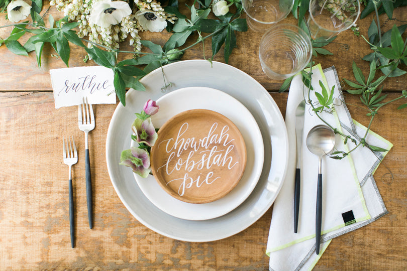 Calligraphy and Lettering by Leveret & Hare | photo by Ruth Eileen Photography