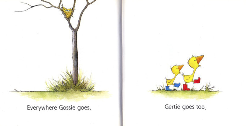 Gossie & Friends series by Olivier Dunrea