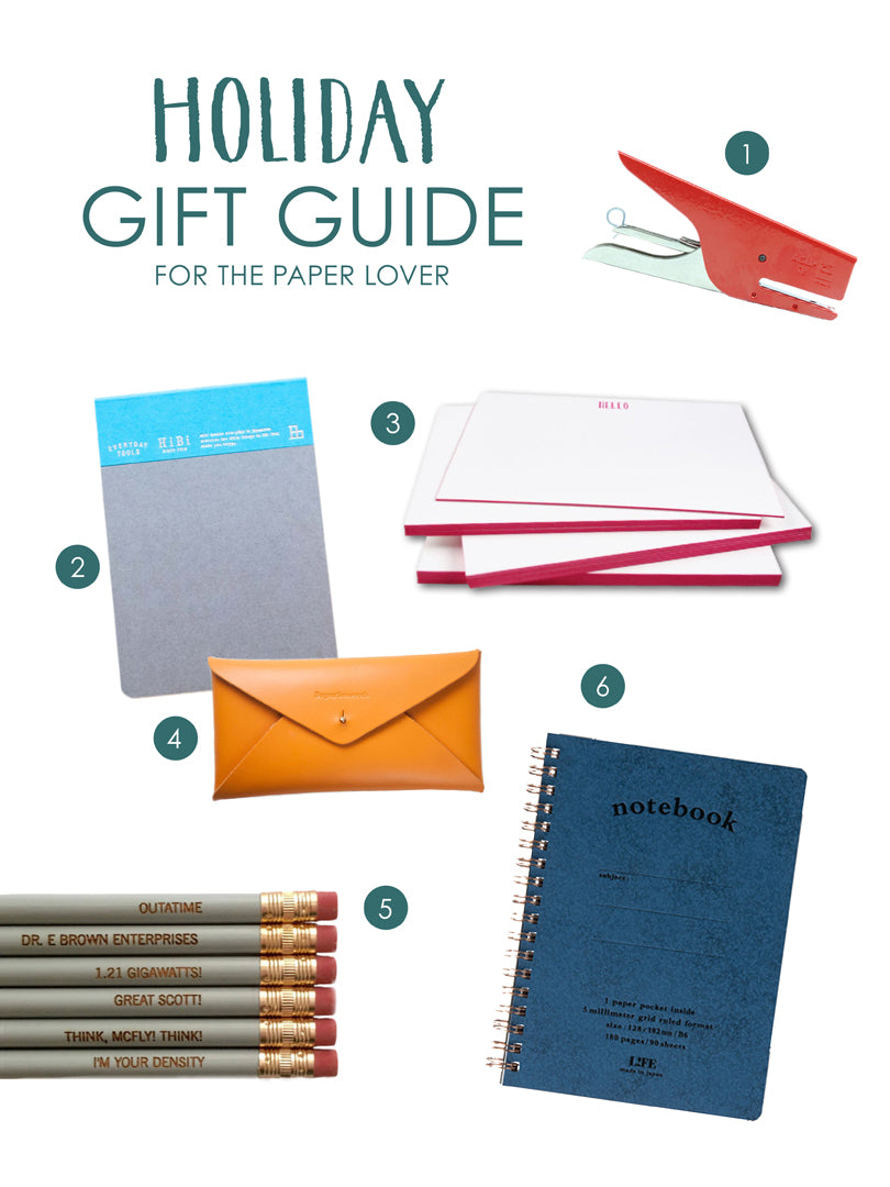 Holiday Gift Guide for the Paper Lover | Blog | Smudge Ink