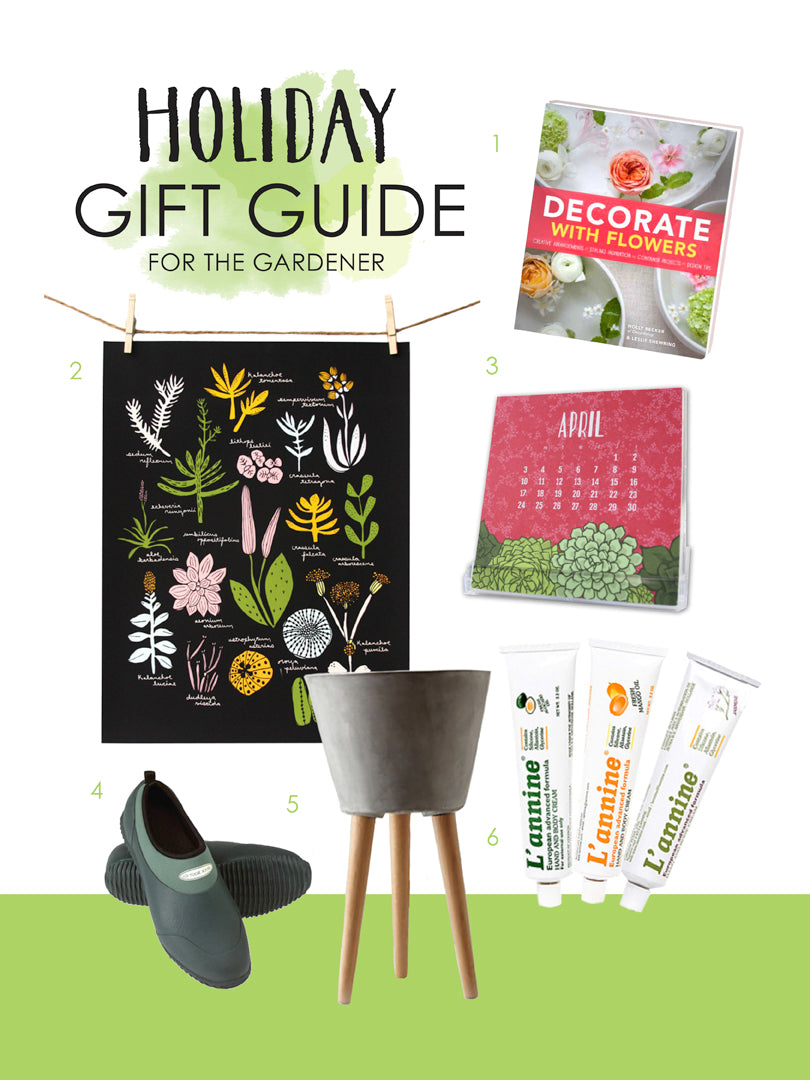 Holiday Gift Guide for the Gardener | Smudge Ink