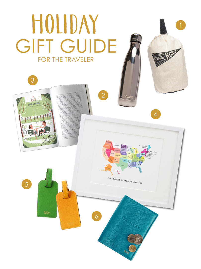 Holiday Gift Guide for the Traveler | Blog | Smudge Ink