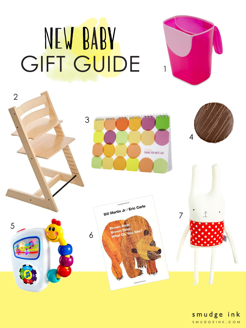 New Baby Gift Guide | Smudge Ink