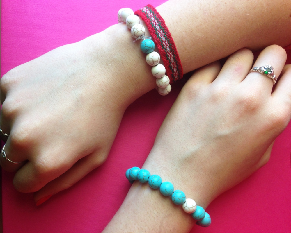 Gift How To: Distance Bracelets | Smudge Ink