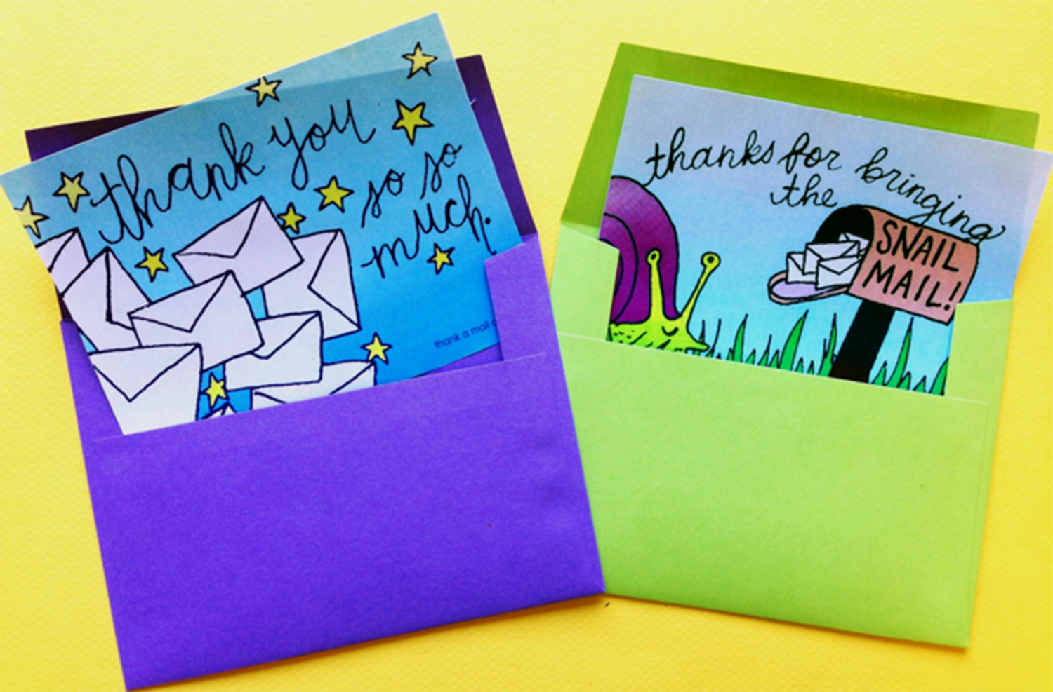 National Thank A Mail Carrier Day | Smudge Ink | Image 3
