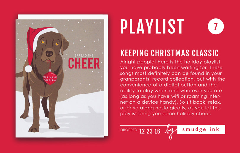 HOLIDAY PLAYLIST: Keeping Christmas Classic