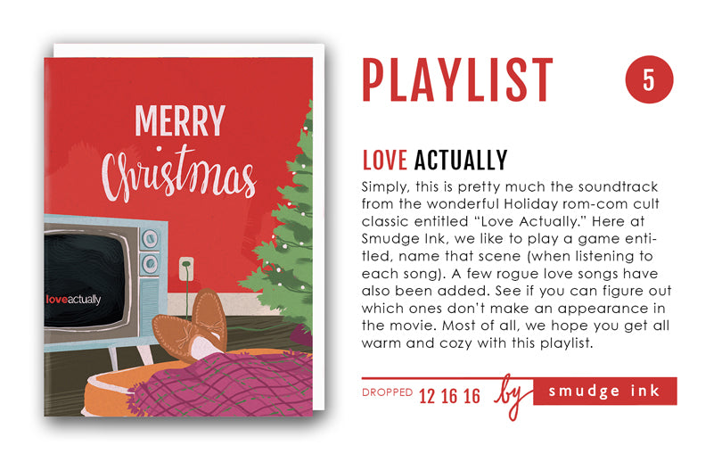 HOLIDAY PLAYLIST: Love Actually