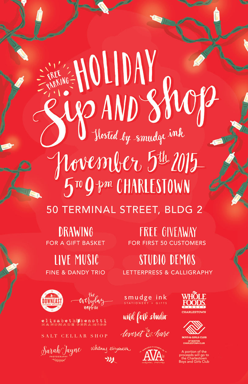 Sip And Shop Invitation as amazing invitations sample