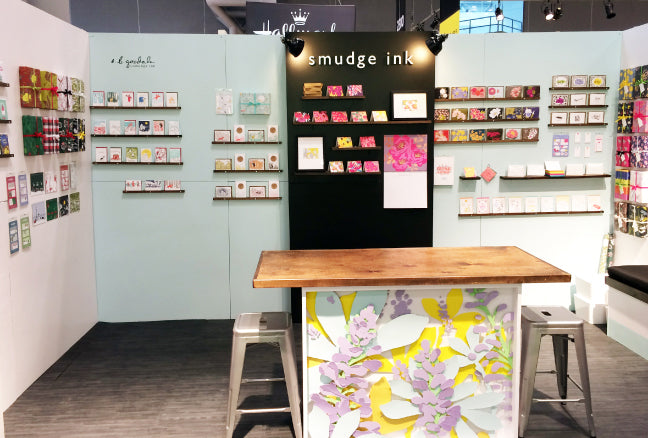 NSS 2016: Booth Display | Smudge Ink
