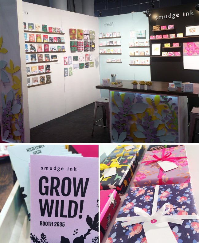 NSS 2016: Booth Details and Products | Smudge Ink