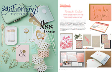 Smudge Ink Press | Stationery Trends Spring 2016