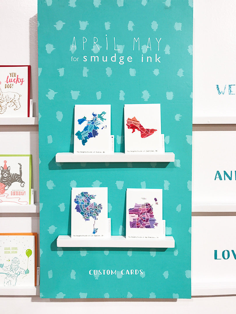 April May for Smudge Ink NSS2017 Booth display