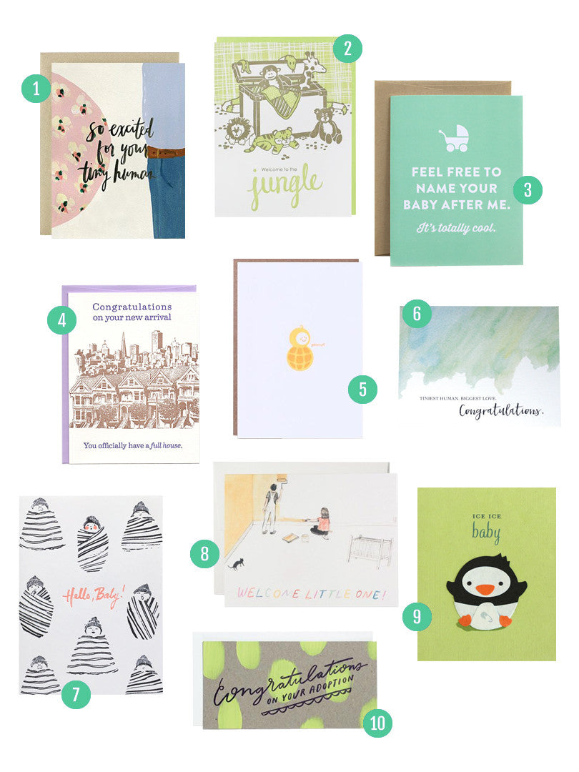 Baby Card Round Up | Blog | Smudge Ink