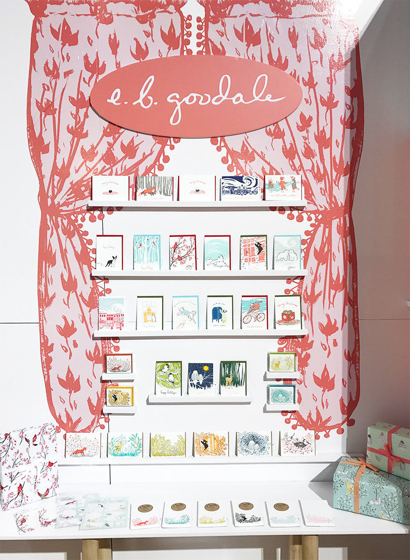 E.B. Goodale for Smudge Ink NSS2017 booth display