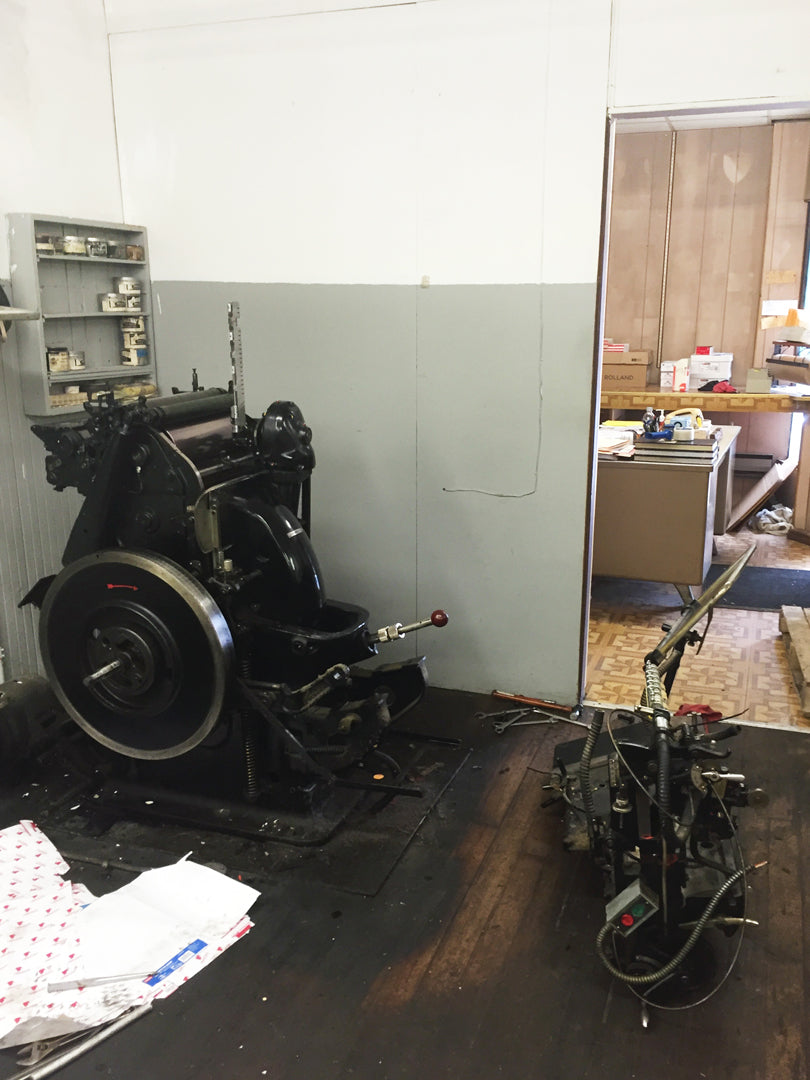 Disassembling Heidelberg Windmill Press | Smudge Ink