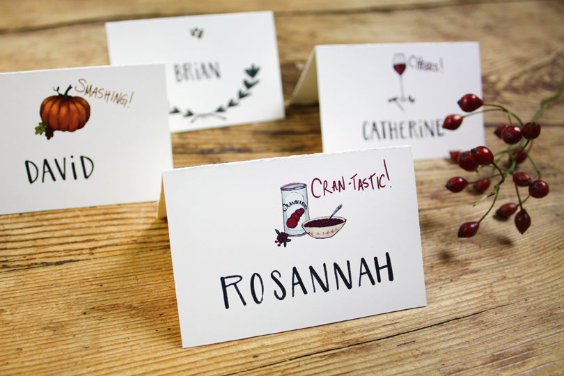 Printable Cran-tastic Cranberry Sauce Place Card