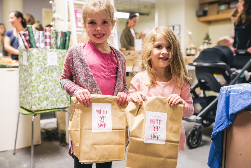 Little Shoppers | Holiday Sip & Shop | photo by Jessica Rich Photography