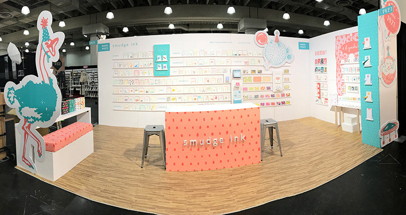 Smudge Ink's NSS2017 Booth