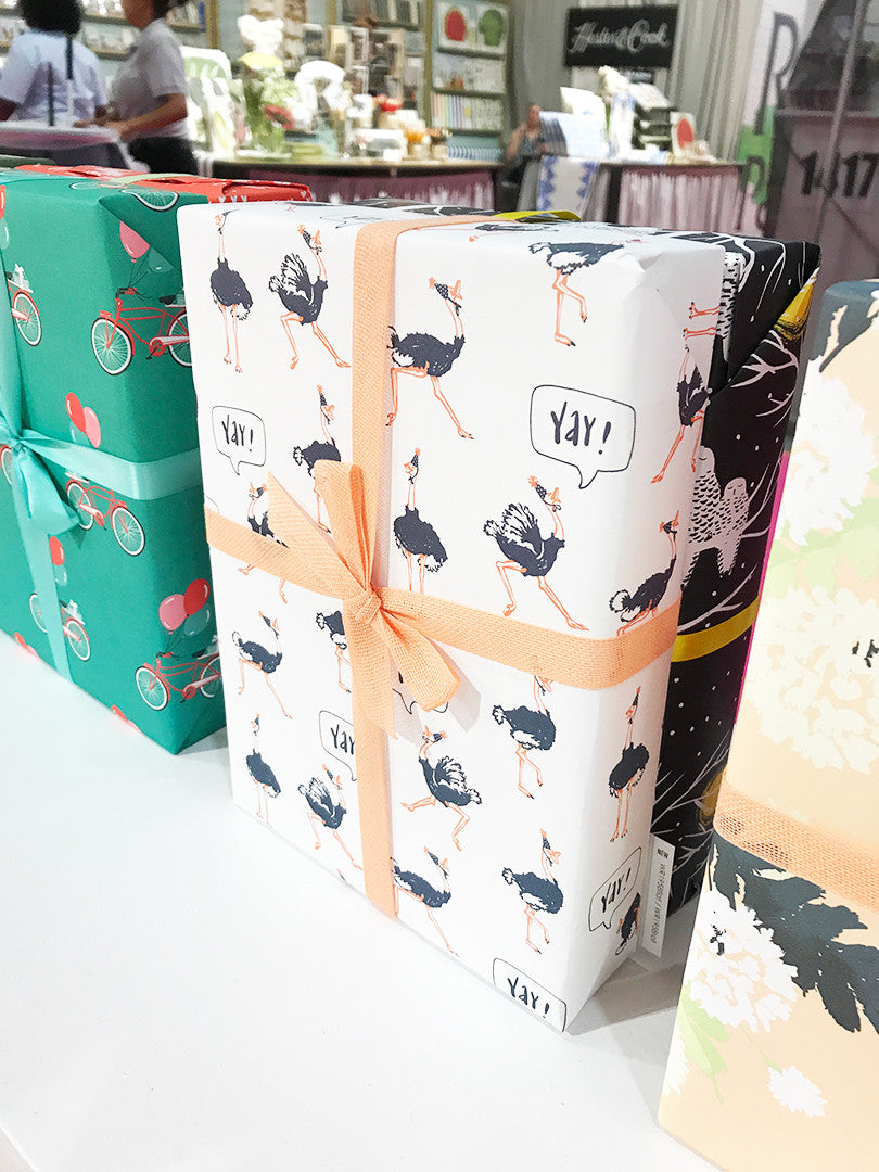 Smudge Ink new gift wrap