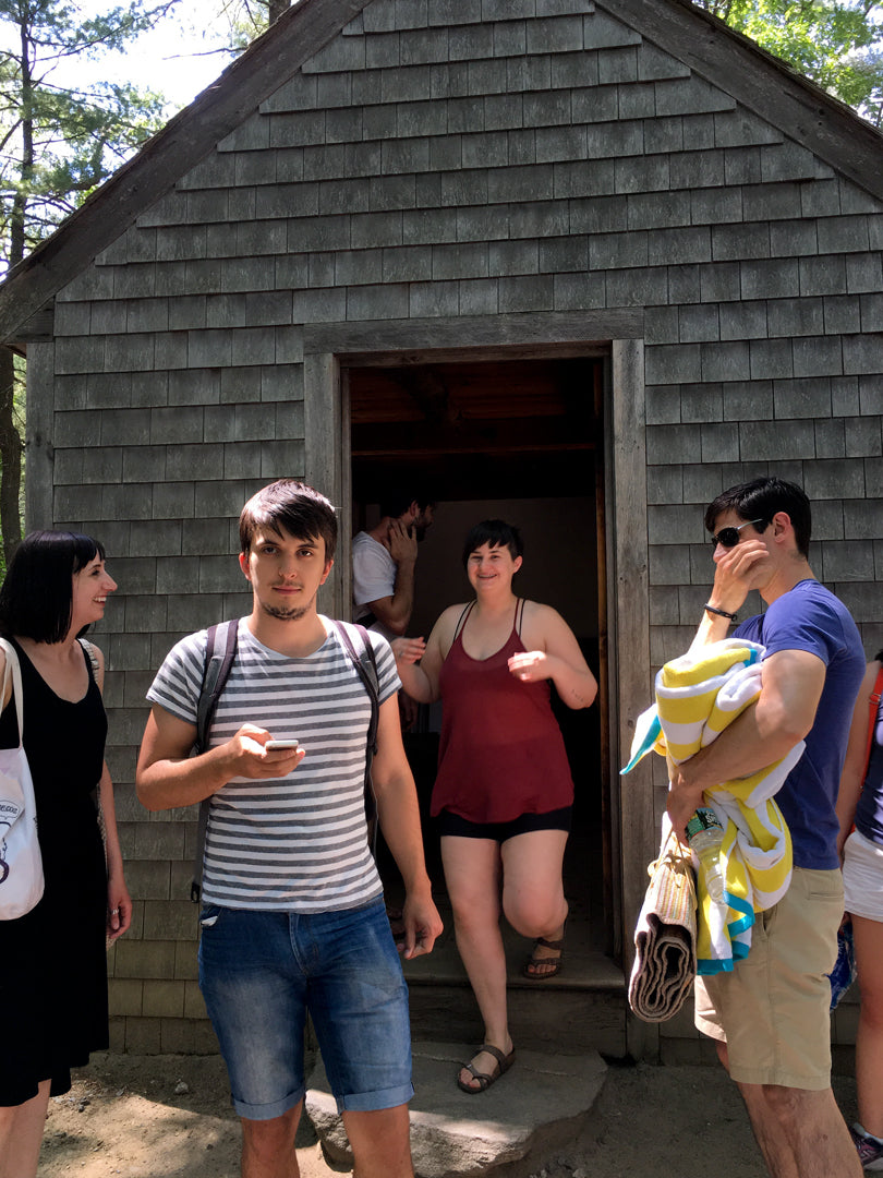 Replica of Thoreau's Cabin at Walden | Smudge Ink