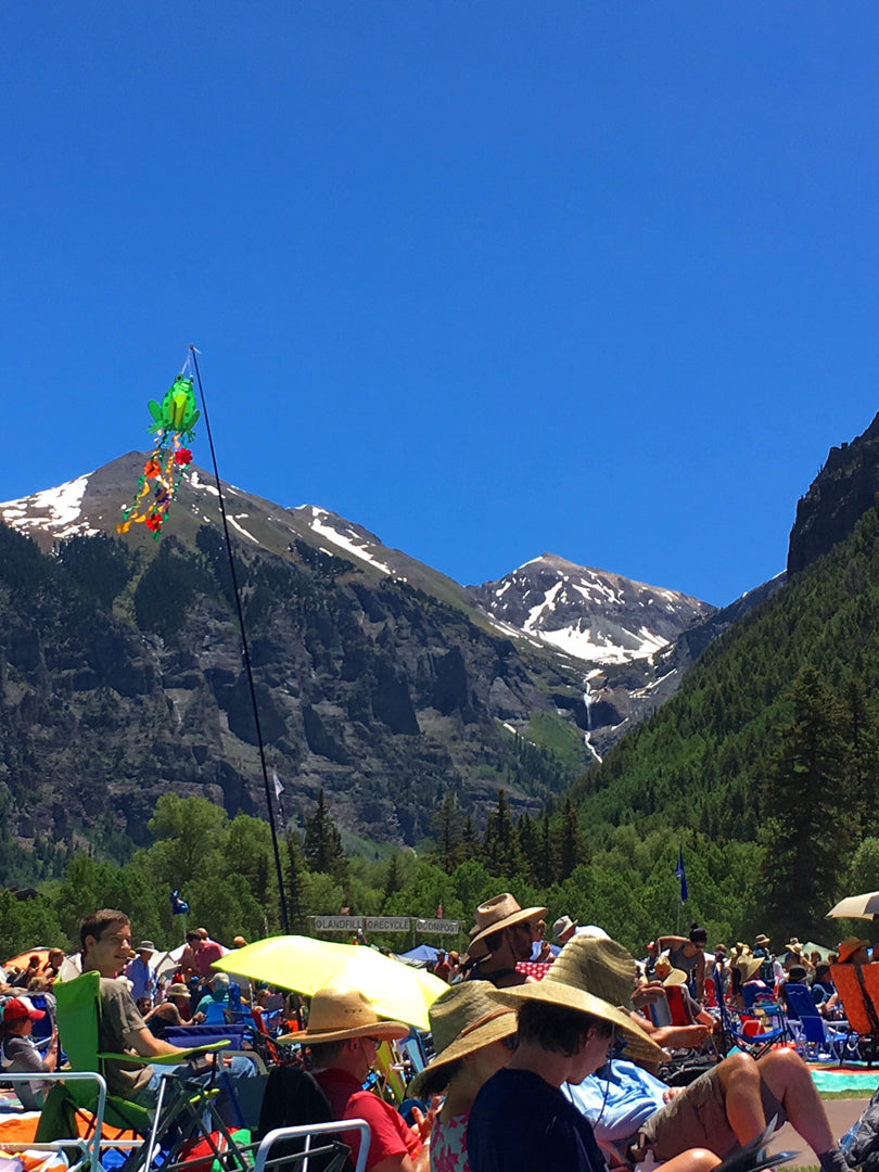 I Get Around Colorado | Telluride Bluegrass Festival
