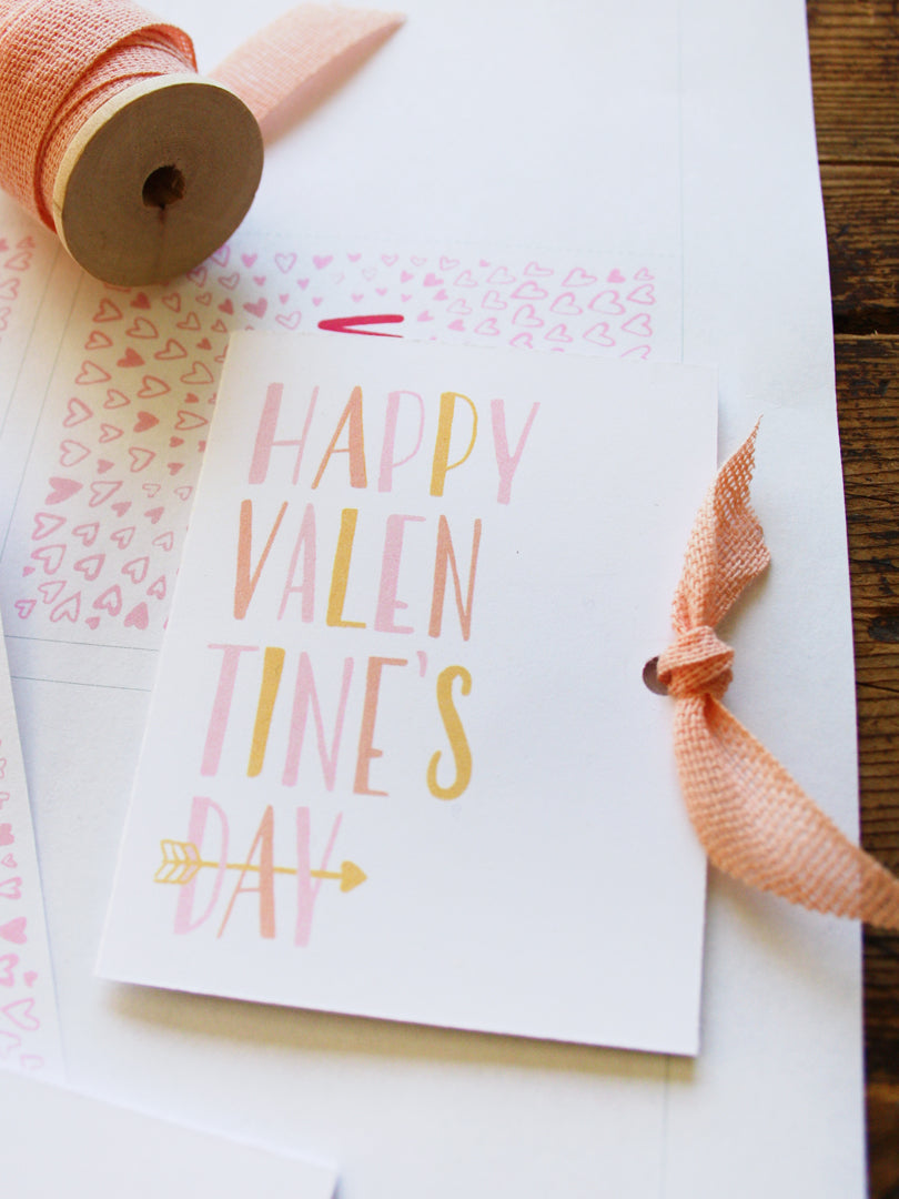 Free Printable Classroom Valentines for Kids | Smudge Ink