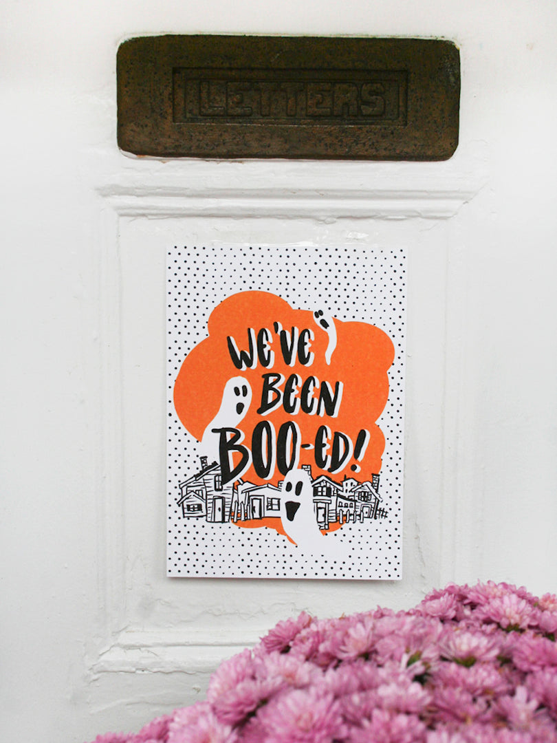 We've Been BOO-ed Printable by Smudge Ink