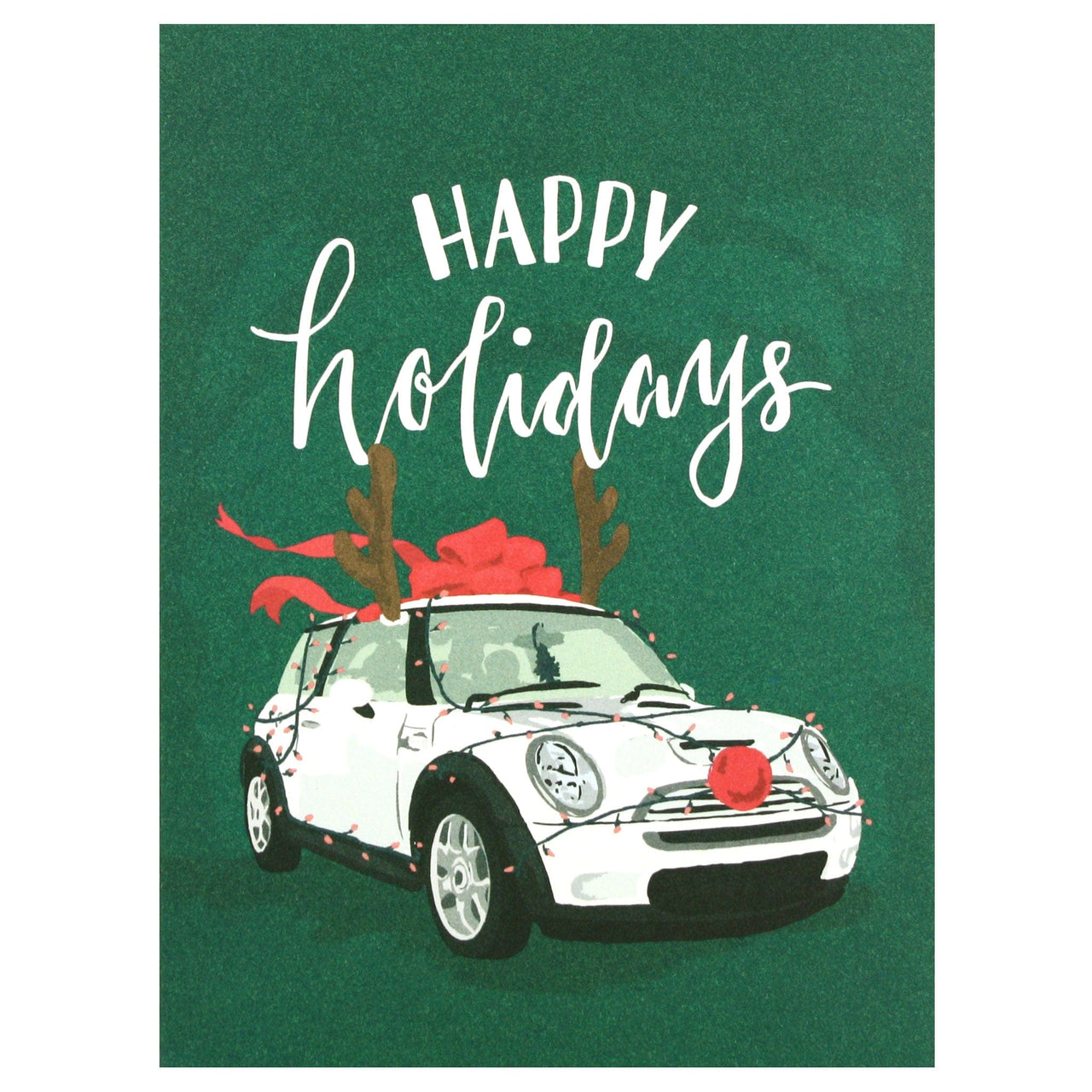 Deck the Car Holiday Card