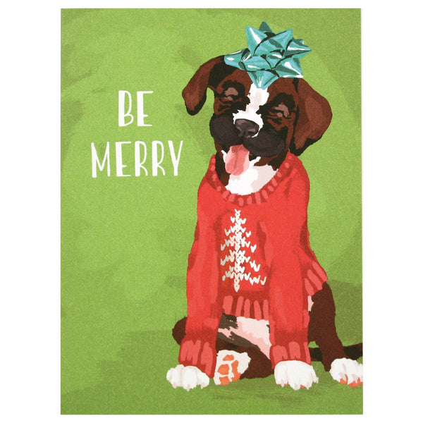 Merry Pup Holiday Card