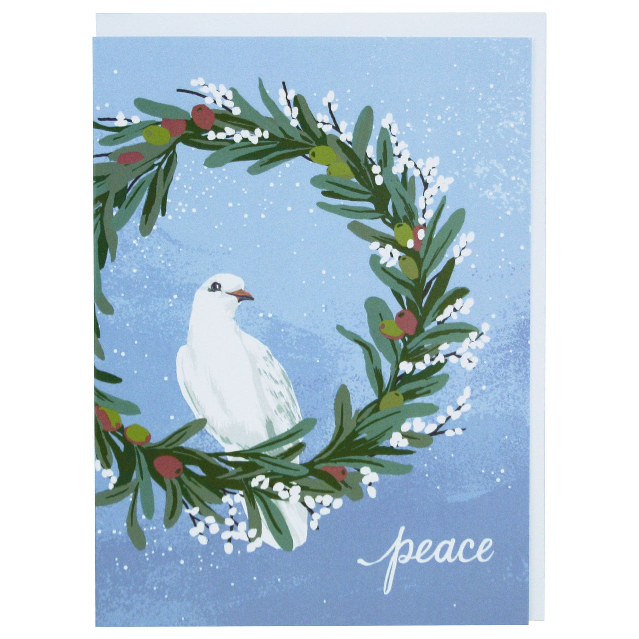 Dove Holiday Card