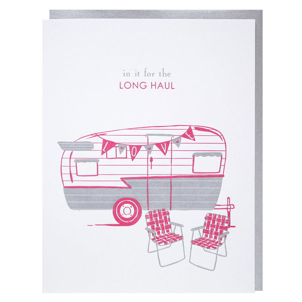 Airstream Trailer Love Card