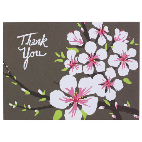 Almond Blossoms Thank You Notes