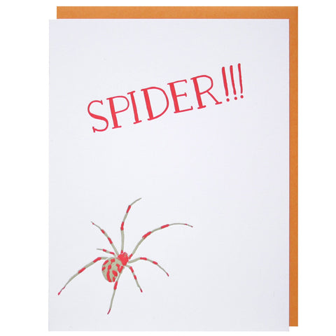 Arachnophobia Father's Day Card