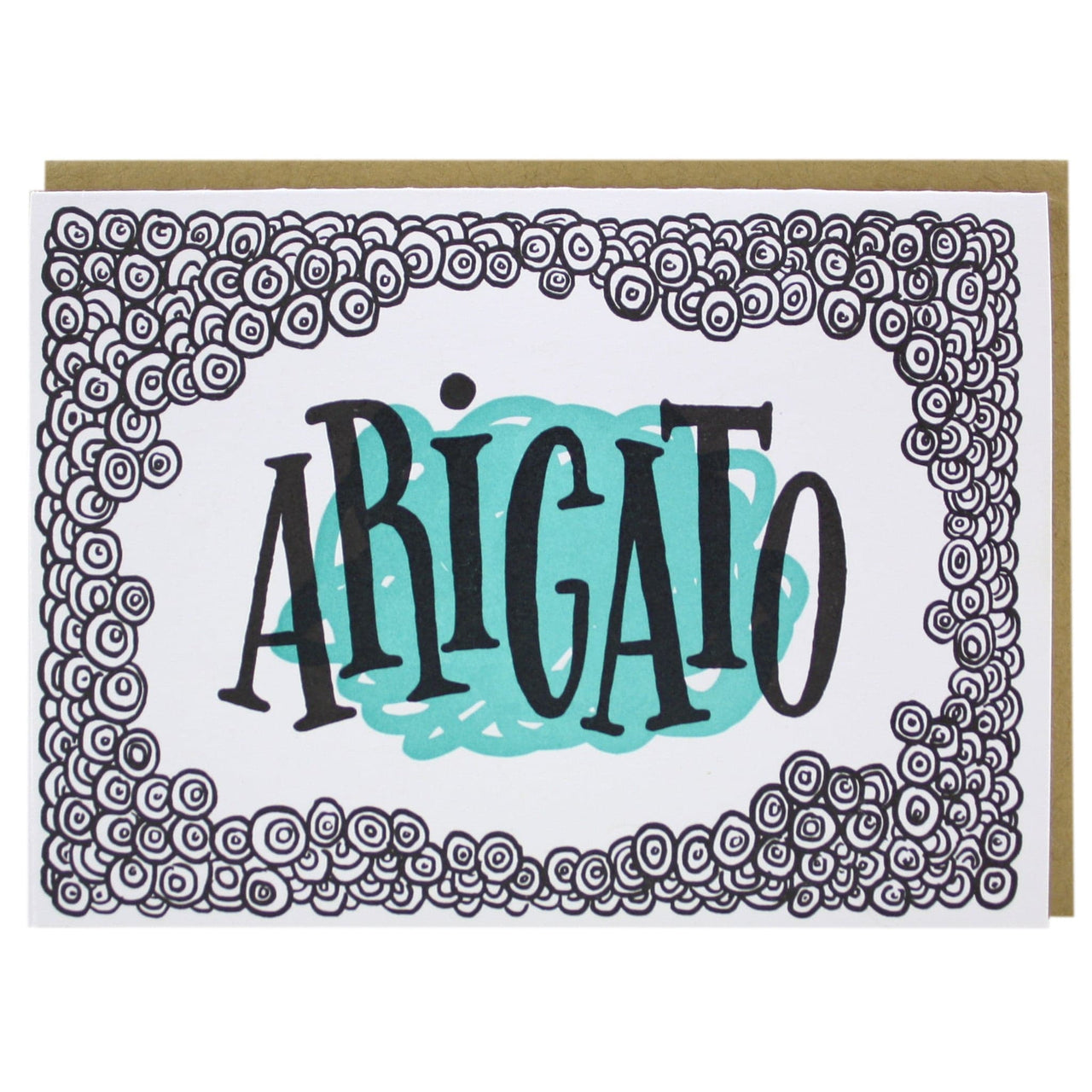 Arigato Thank You Card