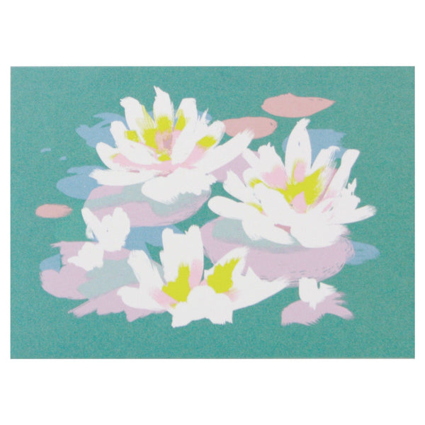 Water Lilies Boxed Note Cards