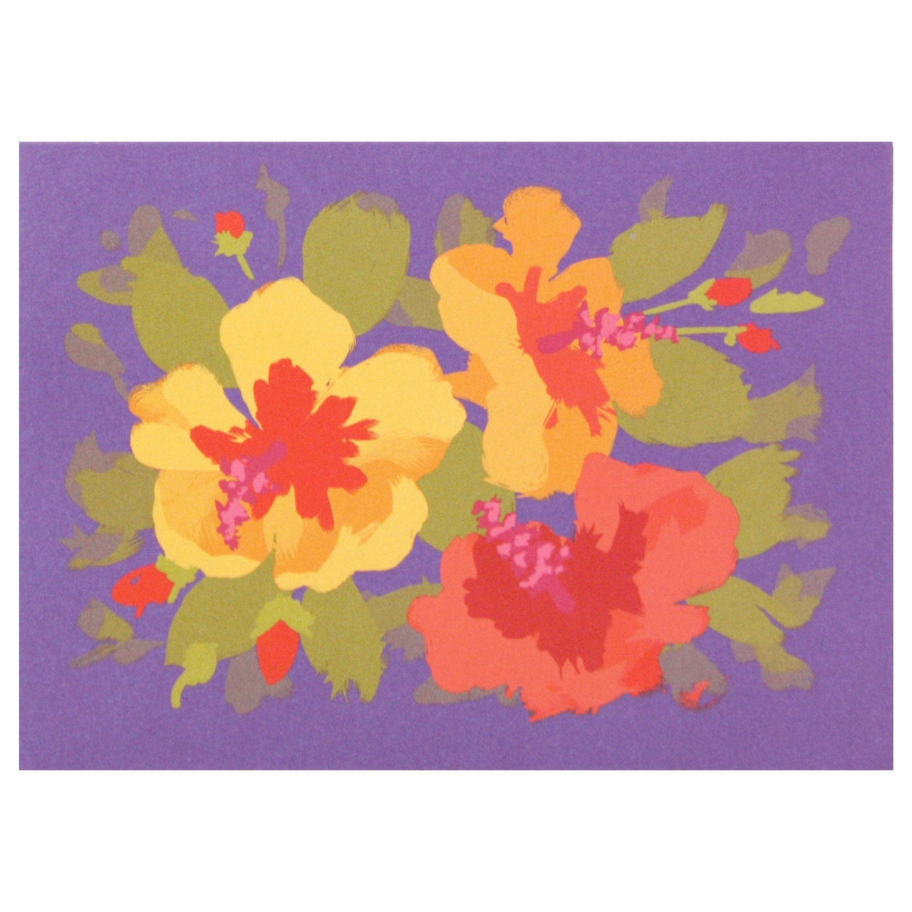 Hibiscus Boxed Note Cards